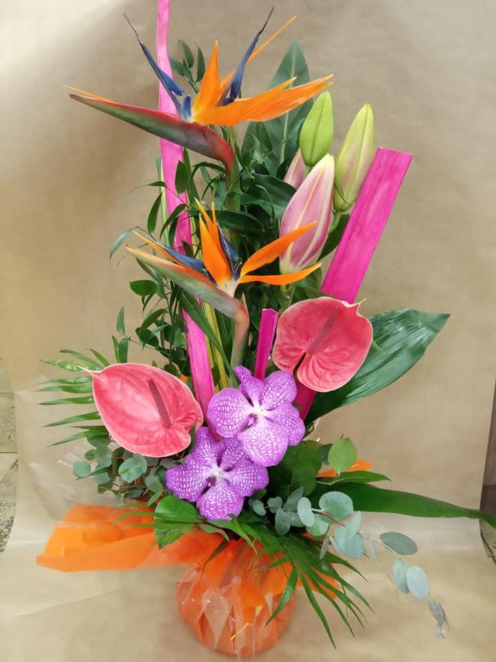 Bouquet hauteur