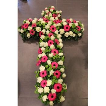 Croix de fleurs